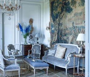 2018 Fransız Tarzı Salon  Dekorasyon Önerileri
