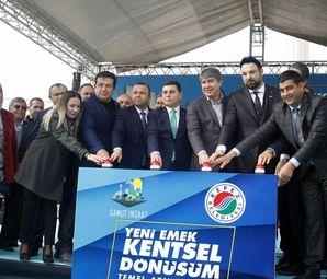 Antalya Emek Kentsel Dönüşüm Projesinin Temeli Atıldı