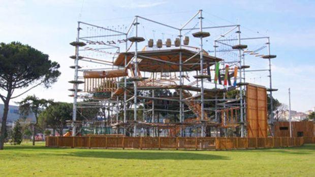 İBB Çırpıcı Şehir Parkı'ndaki Macera Kulesi'ni Kiraya Veriyor