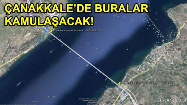 Kınalı Tekirdağ Çanakkale Savaştepe Otoyolu Projesinde Dev Kamulaştırma