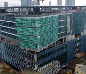 Yeni Okmeydanı Eğitim ve Araştırma Hastanesi'nde Son Durum Havadan Görüntülendi