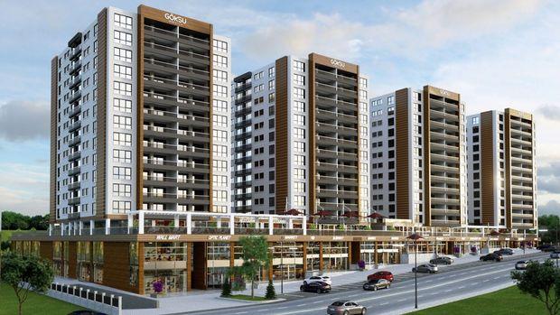 Göksu Prestij Ankara Projesinde 444 Bin TL'ye 4+1
