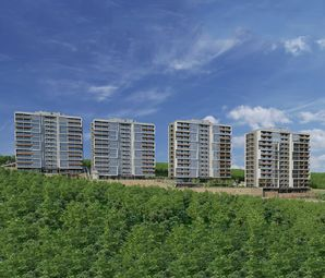 Atakent Panorama İzmir Konut Projesinde 319 Bin TL'ye 3+1