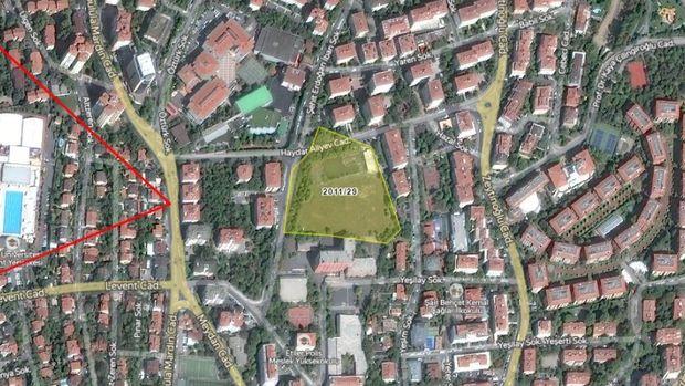 İBB Beşiktaş'taki 32 Bin Metrekare Arsasını 4 Nisanda Satışa Çıkarıyor