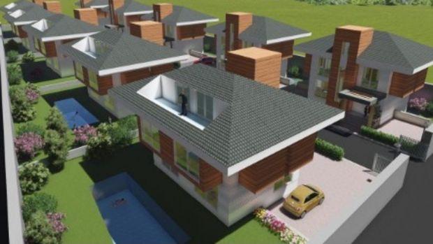 Acarpark Villaları Projesinde 750 Bin TL'ye 5+1
