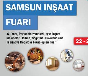 Samsun İnşaat Fuarı 2018 Yarın Kapılarını Açıyor
