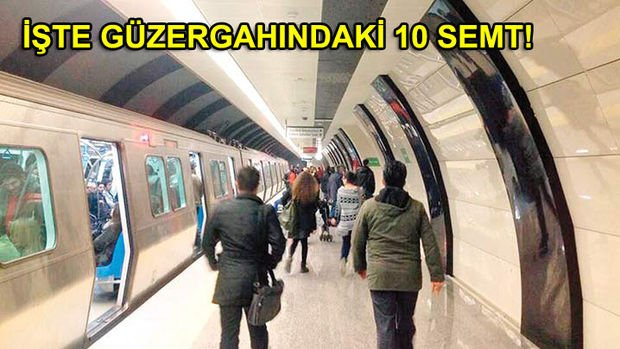 Şişhane Seyrahtepe Metro Hattı Geliyor! İşte Güzergahı!