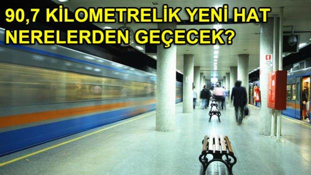 2019'da Açılacak Metro Hatları!
