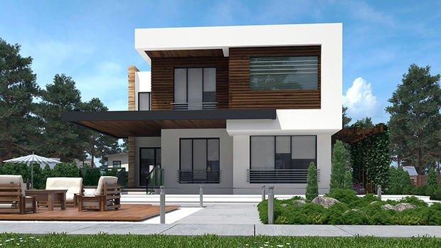 Aşiyan Villaları Kayseri Projesinde 1 Milyon TL'ye 6+1