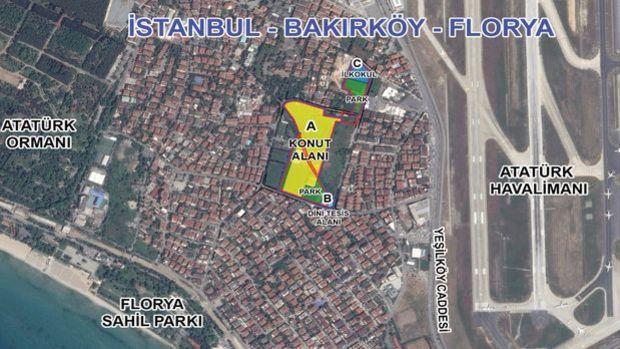 Emlak Konut Galatasaray Florya Arsasına 9 Talip