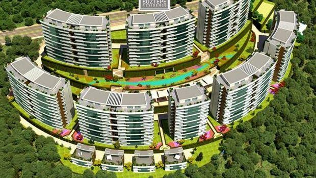 Trabzon Modern Boztepe Residence Fiyatları 340 Bin TL'den Başlıyor