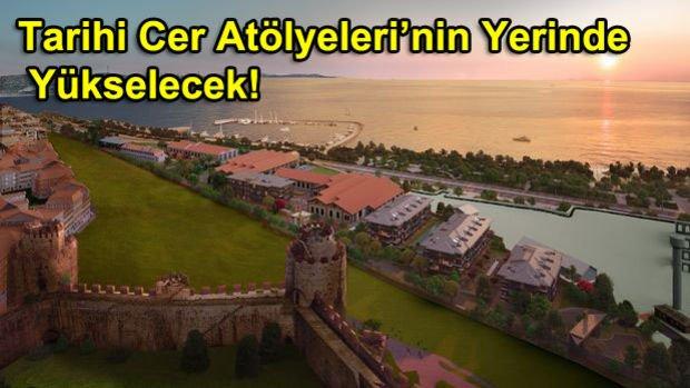 Cer İstanbul Yedikule Projesi Metrekaresi 11 Bin TL'den Satışa Çıktı
