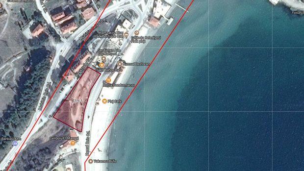 Gelibolu Belediyesi Deniz Kenarındaki Arsasını Satışa Çıkarıyor
