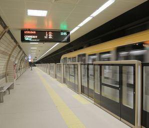İstanbul'a Yeni Bir Sürücüsüz Metro Daha Geliyor! Seneye Açılıyor!