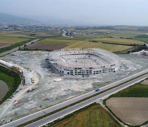 Yeni Hatay Stadı 2019'da Açılacak!