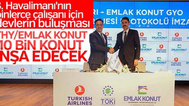 Emlak Konut Arnavutköy'deki Arsasının Yarısını THY'ye Sattı!