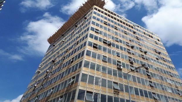 """Ulus Tarihi Kent Merkezi Yenileme Projesinde İlk Kepçe """"En Yükseğe"""" Vuruldu!"""
