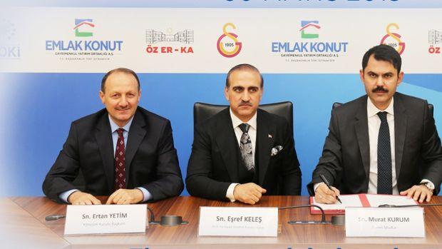 Galatasaray Florya Projesinde İmzalar Atıldı!