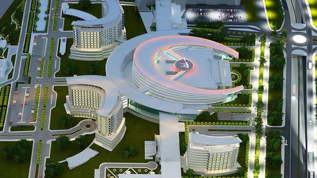 Bin 900 Yataklı Erzurum Şehir Hastanesi Yaz Sonu Açılıyor!