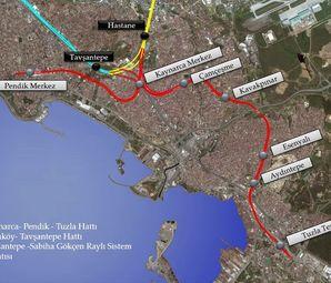Pendik Kaynarca Tuzla Metro Hattı  İnşaatı Yeniden Başlıyor!