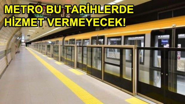 Üsküdar Çekmeköy Metro Hattının 2.Etabı Ağustos'ta Açılıyor!