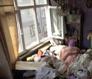 Gayrimenkul Zengini Kadının Evinden 8 Ton Çöp Çıktı! İşte O Evden Görüntüler!
