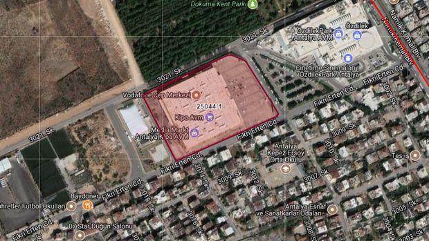 Antalya Kepezdeki Kipa AVM Satılıyor!