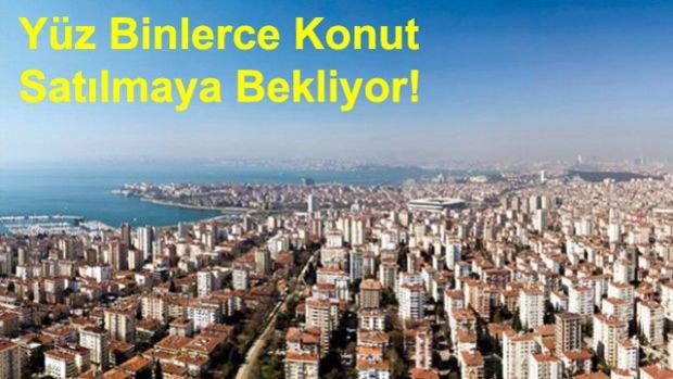 İstanbul'da 221 Bin Konut Stoku Var! En Fazla Stok Bu İlçelerde!