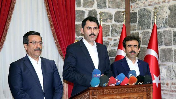 Bakan Kurum: Surdaki çalışmaları hızla bitireceğiz