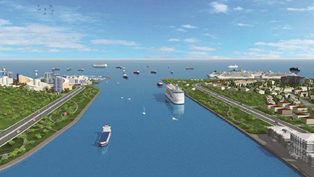 Kanal İstanbula Yeni Düzenleme