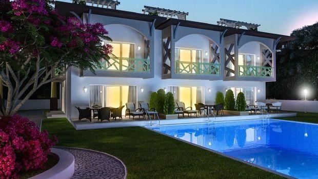 Çeşmi Bülbül Yalıları Projesinde 949 Bin TL'ye 3+1 Villa!