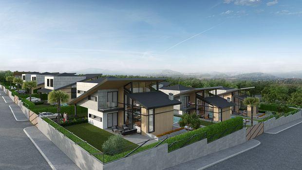 Carmel İnn Ayayorgi Projesinde 2 Milyon 700 Bin TL'ye 7+1 Villa!