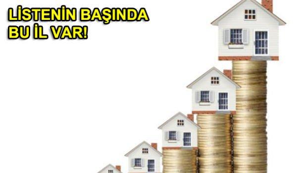 Türkiye'de Konut Fiyatlarının En Çok Arttığı 5 Şehir!