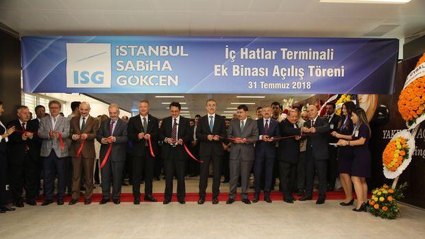 Sabiha Gökçen Havalimanı Yeni İç Hatlar Terminal Binası Açıldı!