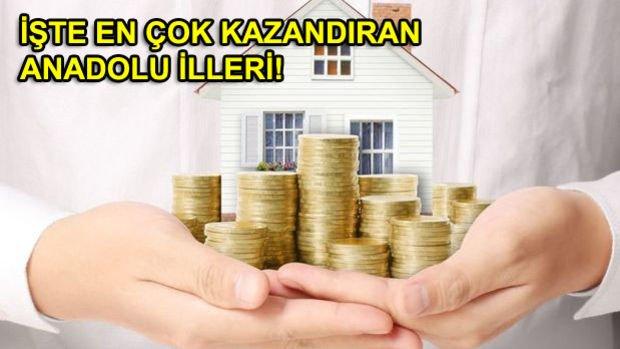 Anadolu'da Konut Yatırımı İstanbul'dan Çok Kazandırıyor!