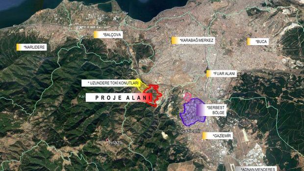 Toki'nin İzmir Uzundere Arsasının İmar Planı Askıda!