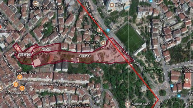Marmara Üniversitesi Nişantaşı Kampüsü İmar Planı Askıda!