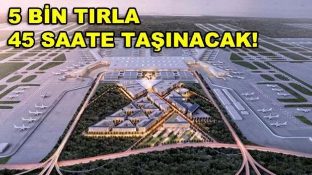 3.Havalimanı Belgesellere Konu Olacak Taşınmaya Hazırlanıyor!