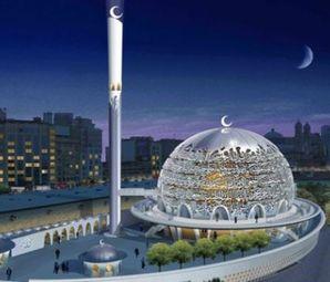 Taksim Camii'nin Kaba İnşaatı Tamamlandı!