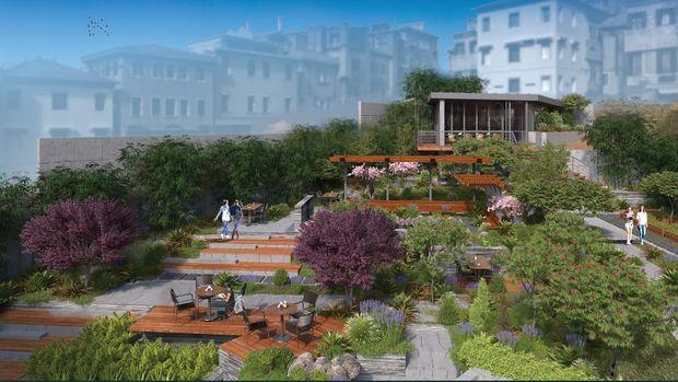 Hacımimi Gardens Beyoğlu Fiyatları 400 Bin Dolardan Başlıyor! Eylül'de Satışta!